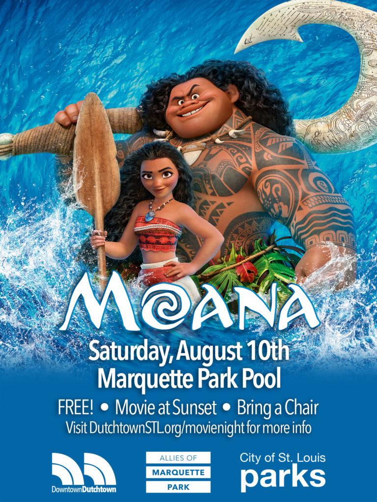 Moana movie poster.