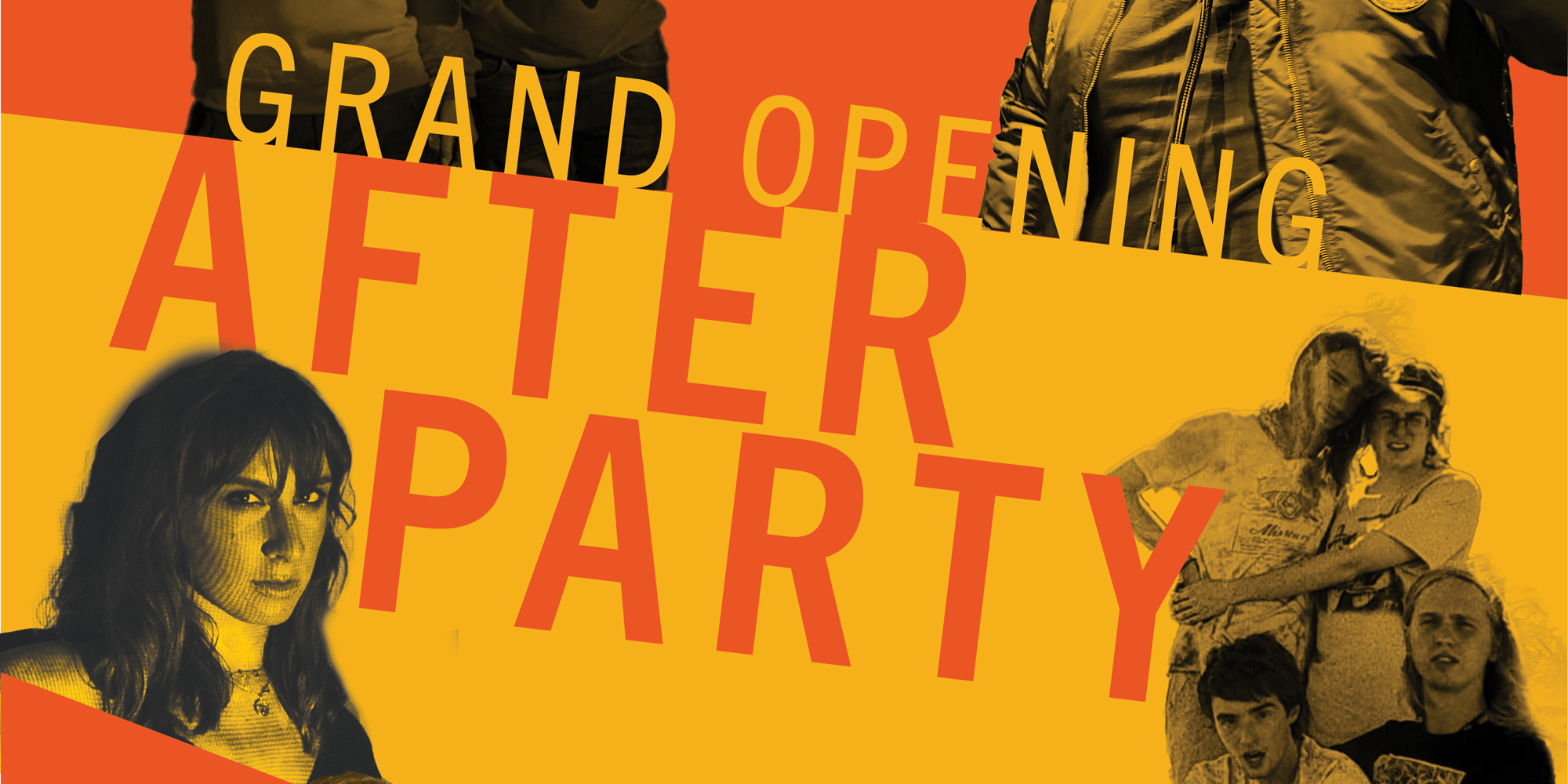 Flyer for the SoJeff Retro Grand Opening After Party.